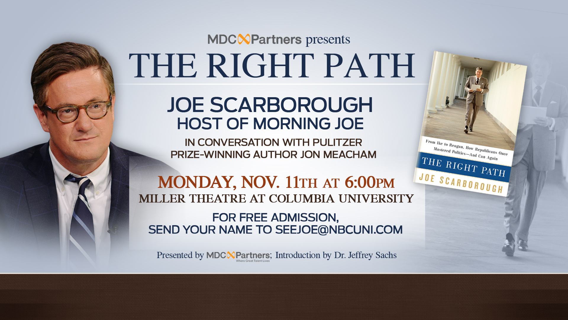 November 11 'The Right Path' event